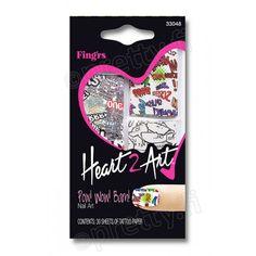 Fing´rs Heart2Art - Pow! Wow! Bam! kynsikoristekuvio 3,90€