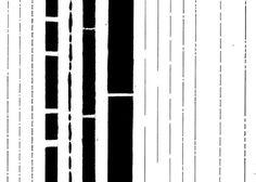 Lines, black. Critérium, acrylique. © Noemie Devime