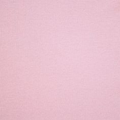 Rose Petal Pink Cotton Ribbing Knit Fabric - A rose tone pink color cotton spandex 2x1 ribbed  knit.  Fabric is the perfect light to medium weight, with a nice stretch and recovery.  Can be used for cuffs, necklines, and waistbands and is also great for tanks tops, dresses, and much more!  ::  $5.50