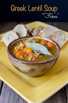 A lentil soup with simple flavors, stacked with protein and iron, and amazing taste. Brings me the comfort of home every time.
