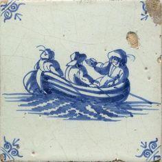 tegels_schepen_boten_op_antieke_tegels