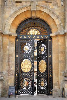 Blenheim Palace - Woodstock, Oxfordshire, England, U.K. (by sometimesong) #doors