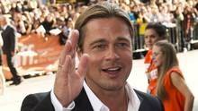 Actor Brad Pitt on the red carpet gala for the new movie 12 Years a Slave during the 2013 Toronto International Film Festival, Sept. 6, 2013. (Nathan Denette/The Canadian Press)