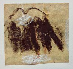 Neutral Colors, Original Artwork, Moose Art, Abstract Art, Collage, Ink, Drawings, Paper, Painting Art