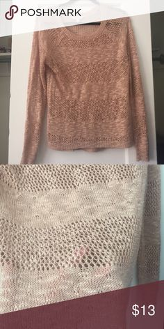 Charming Charlie Sweater Cute over a tank top! Charming Charlie Sweaters Crew & Scoop Necks