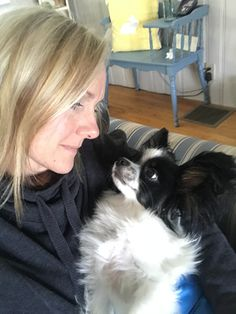 True Love!  Ollie with his forever Mom, Cindy!