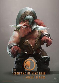 Dwarf male warrior #dwarf #dwarfmale