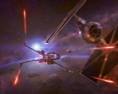 ArtStation - Star Wars - Ancient Rivals - Red Two, Sacha Angel Diener