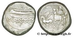 Phoenician merchants practised barter for a very long time and surprisingly, were not among the first to adopt the metal currency. It will only break through when Darius I reorganizes its empire, and integrates Phoenicia in the fifth satrapy which includes Syria, Palestine and Cyprus, about 480 B.C.