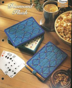 Plastic Canvas Pattern PLAYING CARDS CASE by needlecraftsupershop, $4.50