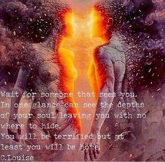 Soulmate/Twin Flames                                                       …