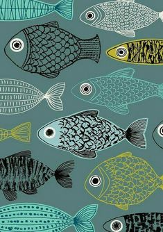 Картинка с тегом «fish and wallpaper»