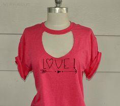 WobiSobi: Cutout; Love T-Shirt DIY