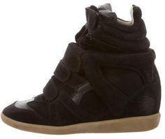 Isabel Marant Suede Beckett Sneakers