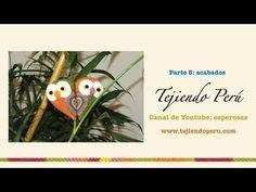 Búhos corazón - Tejiendo Perú