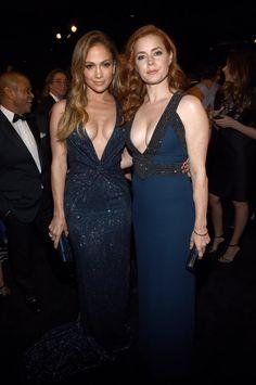 Pin for Later: Les Stars Ont Échangé Leurs Costumes D'Halloween Pour Des Looks Plus Glamour Jennifer Lopez et Amy Adams