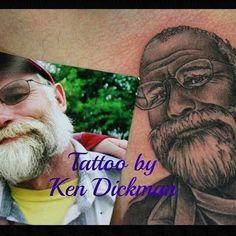 #tattoo #portrait Tattoo Portrait, Tattoos, Artist, Tatuajes, Tattoo, Artists, Japanese Tattoos, Tattoo Illustration, Portrait Tattoos