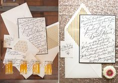 Onyx and honey wedding ideas | Photo by Heather Cook Elliott Photography | Read more - http://www.100layercake.com/blog/?p=76584