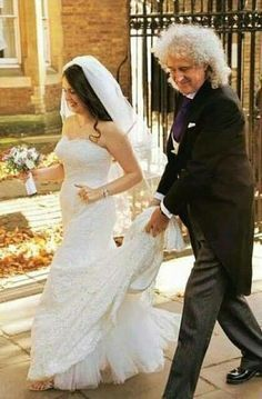 Brian May as Father of the Bride with his daughter Emily on her wedding day. Description from pinterest.com. I searched for this on bing.com/images