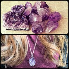 Amethyst anybody? :) #hemp #crystals
