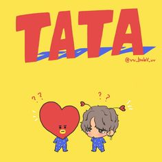 BT21 | The heart is so Tae:)