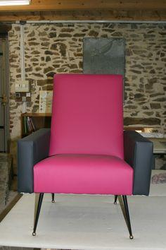 fauteuil 60 tissus boussac
