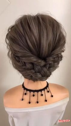 Hair Up Styles, Medium Hair Styles, Bun Hairstyles For Long Hair, Braided Hairstyles, Hair Videos, Hair Hacks, Hair Inspiration, Hair Makeup, Hair Cuts