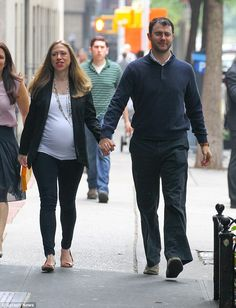 It's a girl! Chelsea Clinton and Marc Mezvinsky tonight celebrated the birth of their first Charlotte her name...
