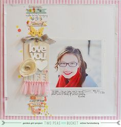 Column & Stitching around photo mat (different then I have seen in the past)  by Wilna