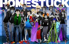 I started reading Homestuck and it is AWESOME, confusing at first but once you get to around act 2 or 3 it gets really interesting. :3