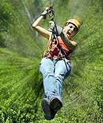 Selvatica Canopy Tour   Zip-lining anywhwere  #ExpediaWanderlust