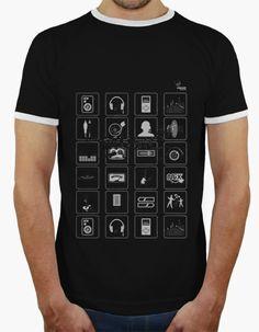 Camiseta Musikonos B Camiseta hombre, estilo retro  18,90 € - ¡Envío gratis a partir de 3 artículos!