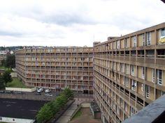 Park Hill flats, Sheffield Concrete Building, Building Art, Council Estate, Derelict Buildings, Sheffield City, The Blitz, Social Housing, Listed Building, Urban Industrial