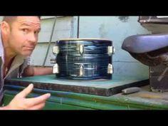 Vintage Drum Bearing Edge Restoration - Pt 4