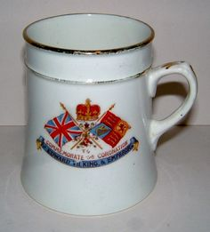 1902 Commemorative Mug for the Coronation of King Edward VII Vintage Royalty Royal Souvenir Vintage Royal Mug by BiminiCricket, $50.00 USD #zibbet