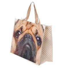 Nákupní #taška #Mopslík #pug #shoppingbag