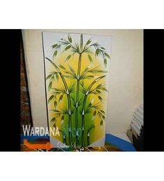 Lukisan Bambu Pallete (LUK-BAM-28) - Rp. 40.000