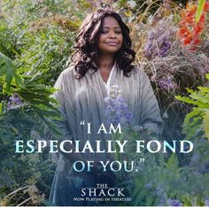 THE SHACK: Now playing in theaters. Use the link to visit the official movie website for more details and watch the trailer! Also, Octavia Spencer will host SNL on Saturday, March 4, 2017! YGG!