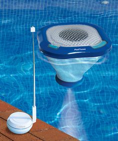 Take a look at this Pool Tunes Floating Wireless Speaker today!