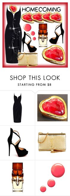 """""""FROM FRANCE, WITH LOVE !"""" by francoisefortier ❤ liked on Polyvore featuring Zimmermann, Christian Louboutin, Yves Saint Laurent, Topshop and vintage"""