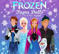 Do you remember playing with paper dolls as a child? We found an amazing artist who designs Disney inspired paper dolls, and you can get them for your child or grandchild absolutely FREE!