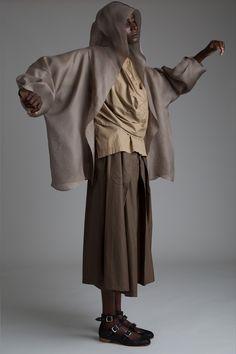 Zoran Hooded Jacket Issey Miyake Shirt Jean Paul Gaultier Gauchos Designer Vintage Clothing Minimal Fashion