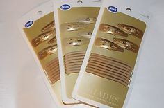Goody Colour Collection 3 packs/12 on card Blonde Shades  76604