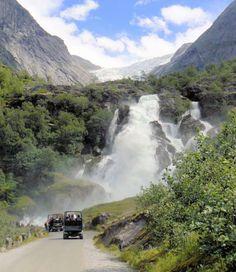 Ride up to Briksdal Glacier in Norway
