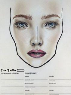 fresh face - at MAC, by Amalia Bot