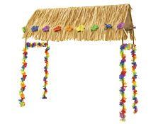 4u0027 Tabletop Tiki Hut