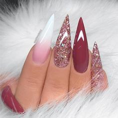 "4,771 Likes, 17 Comments - TheGlitterNail Get inspired! (@theglitternail) on Instagram: ""✨ REPOST - - • - - Soft pink coffin nails with crystals ✨✨✨ - - • - - Picture and Nail Design by…"""