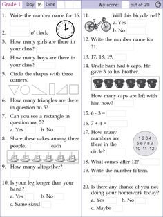 Search Results for Mental math grade 1 day 1 2nd Grade Reading Worksheets, Math Multiplication Worksheets, Mental Maths Worksheets, Free Printable Math Worksheets, 1st Grade Math, Kindergarten Math, Teaching Math, Math Olympiad, Math Pages