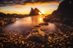 Sublimity Exposed - A bracketed, long exposure, landscape image of the morning…