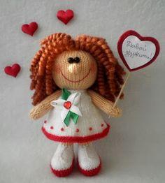 Кукляндия: Вязаные игрушки спицами. Идеи для рукоделия